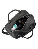 Фотография Мужская винтажная кожаная дорожная сумка SHVIGEL 15302