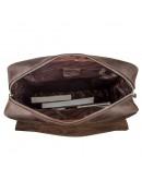 Фотография Большой рюкзак в винтажной натуральной коже Shvigel 15307