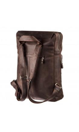 Большой рюкзак в винтажной натуральной коже Shvigel 15307