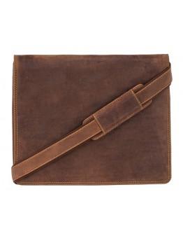 Коричневая мужская сумка Visconti 16025 (Oil Tan)