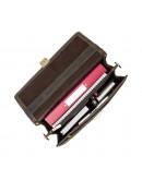 Фотография Коричневый мужской кожаный портфель Visconti 16038XL (Oil Brown)