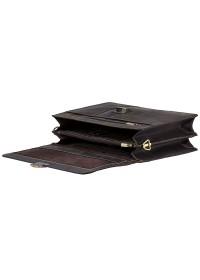 Коричневый мужской кожаный портфель Visconti 16038XL (Oil Brown)