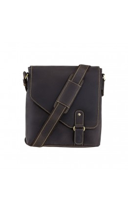 Удобная мужская сумка на плечо Visconti 16071 Aspin (Оil Brown)