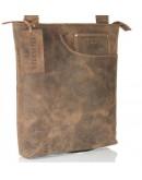 Фотография Мужская сумка из лошадиной кожи экстра класса 7162