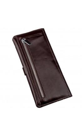 Коричневый мужской бумажник SHVIGEL 16202