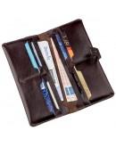 Фотография Коричневый мужской бумажник SHVIGEL 16202