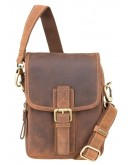 Мужская кожаная небольшая сумка Visconti 16208 Jules (Oil Tan)