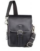 Фотография Черная матовая сумка на плечо Visconti Jules 16208 (Black)