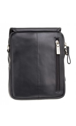 Черная матовая сумка на плечо Visconti Jules 16208 (Black)