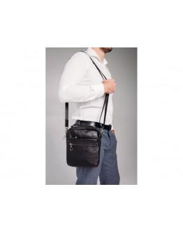 Сумка черная мужская на плечо Tiding Bag 164A