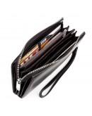 Фотография Мужской кожаный черный деловой клатч KARYA 17199