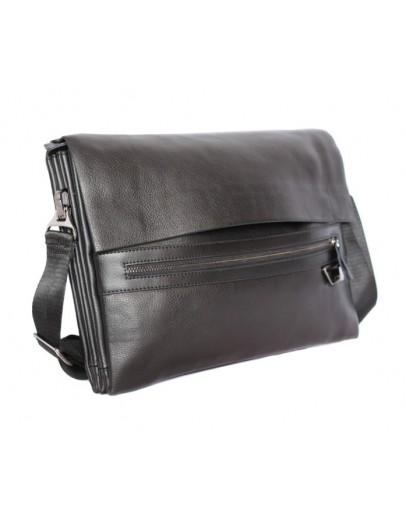 Фотография Классная классическая черная мужская сумка на плечо 7172