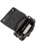 Фотография Мужская кожаная черная сумка - барсетка KARYA 17223