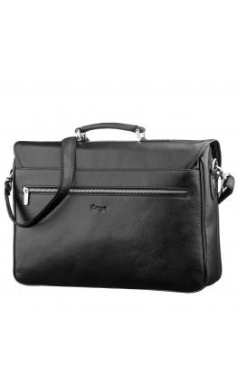 Мужской кожаный портфель - сумка для ноутбука KARYA 17275