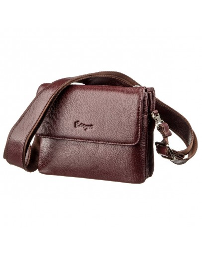 Фотография Горизонтальная мужская сумка - барсетка KARYA 17366