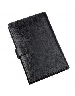 Фирменный кожаный мужской бумажник KARYA 17368