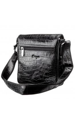 Мужская сумка на плечо с тиснением Karya 17382