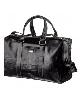 Деловая мужская сумка с тиснением для командировок KARYA 17386