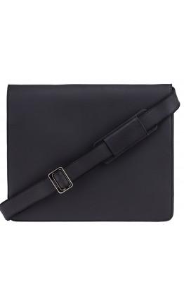 Черная вместительная сумка на плечо Visconti 18548 Harvard (Black)