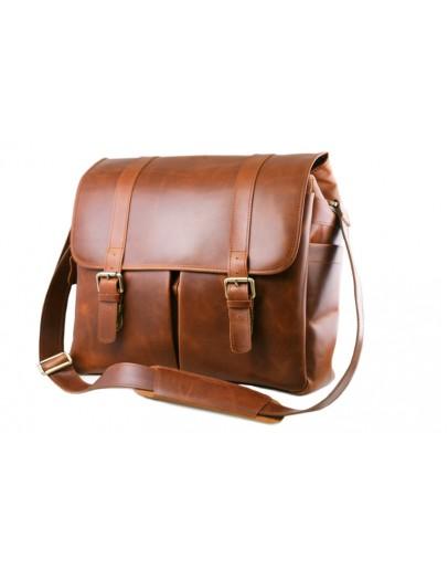 Фотография Большая стильная мужская сумка из превосходной кожи 71883B