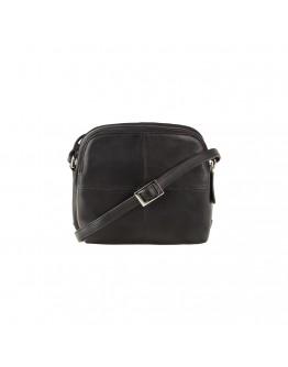 Черная женская небольшая сумка Visconti 18939 Holly (Black)