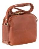 Фотография Коричневая женская кожаная небольшая сумка Visconti 18939 Holly (Brown)