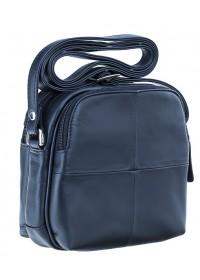 Синяя женская небольшая фирменная сумка Visconti 18939 Holly (Navy)