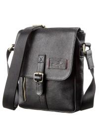 Мужская сумка на плечо черная SHVIGEL 19100