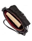 Фотография Мужская сумка на плечо черная SHVIGEL 19100