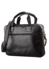 Мужская сумка формата А4 черная SHVIGEL 19106