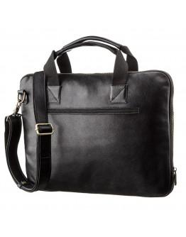 Черная сумка для ноутбука тонкая SHVIGEL 19117