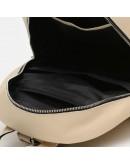 Фотография Женский кожаный бежевый рюкзак Ricco Grande 1l600-beige