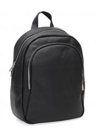 Женский кожаный рюкзак Ricco Grande 1l600-black