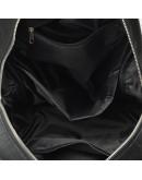 Фотография Черный кожаный женский рюкзак Ricco Grande 1l655-black