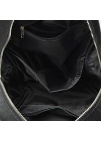 Черный кожаный женский рюкзак Ricco Grande 1l655-black