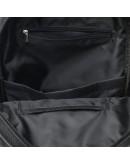 Фотография Женский черный кожаный рюкзак Ricco Grande 1l658-black