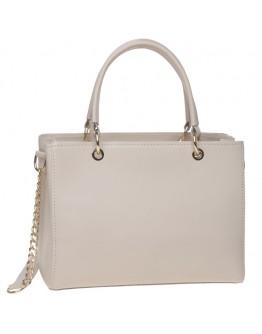 Кожаная женская бежевая сумка Ricco Grande 1L797-beige