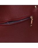 Фотография Красная женская кожаная сумка Ricco Grande 1l908x-bordo