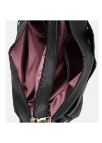 Удобная женская кожаная сумка Ricco Grande 1L947-black