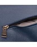 Фотография Синяя женская кожаная сумка Ricco Grande 1L953-blue