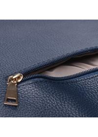 Синяя женская кожаная сумка Ricco Grande 1L953-blue