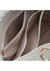 Белая женская кожаная сумка Ricco Grande 1l953-white