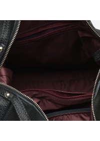 Женская черная кожаная сумка Ricco Grande 1l975-black
