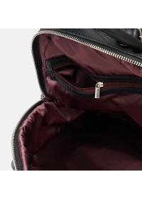 Женский черный рюкзак Ricco Grande 1L976-black