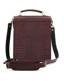 Фотография Классическая стильная барсетка из кожи Manufatto 1spb brown