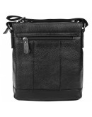 Фотография Черная кожаная сумка через плечо 1t8153m-black