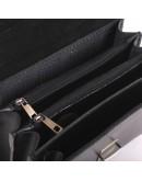Фотография Классическая мужская барсетка Manufatto 2-vis чёрная гладкая