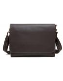 Фотография Мужская сумка на плечо формата А4 горизонтальная Vintage 20007