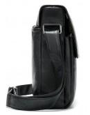 Фотография Черная кожаная сумка через плечо Vintage 20015