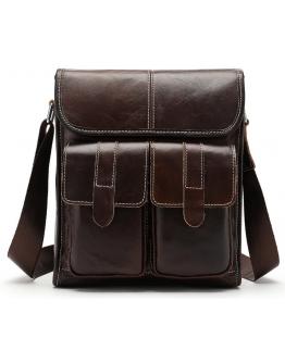 Мужская сумка на плечо вертикальная Vintage 20020